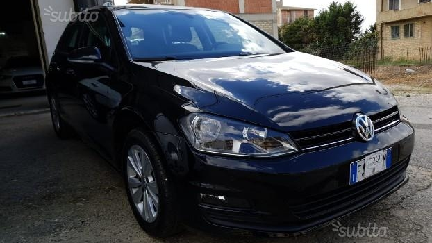 """BLACK FRIDAY "" VW Golf 7 1.6 TDI 110CV Highline Nero MET. , 2015"