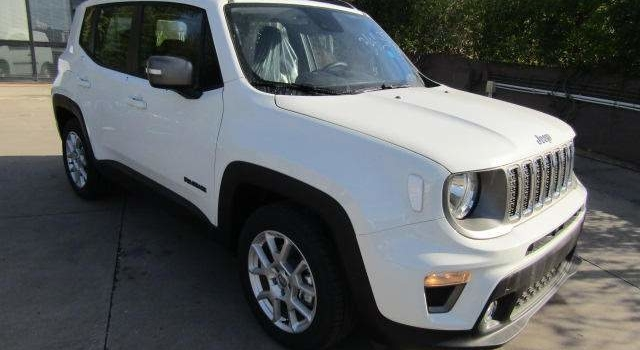 IN ARRIVO – JEEP renegade 1.6 mjt Limited fwd 120cv E6