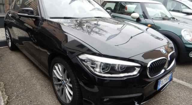 IN ARRIVO – BMW Serie 1 116D del 2015 , Nero