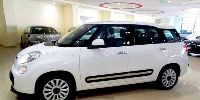 IN ARRIVO – Fiat 500L Living 1.6 Mjet 120CV  7 Posti Bianca , 2017