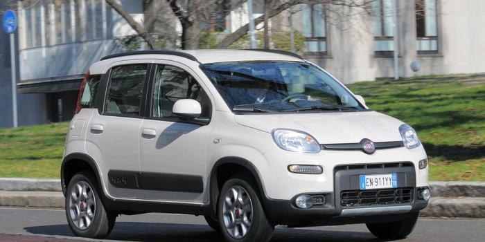 IN ARRIVO – Fiat Panda 4X4 0.9 Twinair 85CV Bianca , 2014