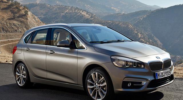 BMW 216D Luxury , Grigio – 2017
